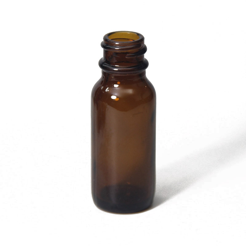 15ml Boston round bottles amber glass bottle